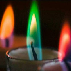 rainbow-candle